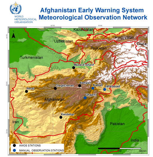 Afghanistan EWS Meteorological Observation Network