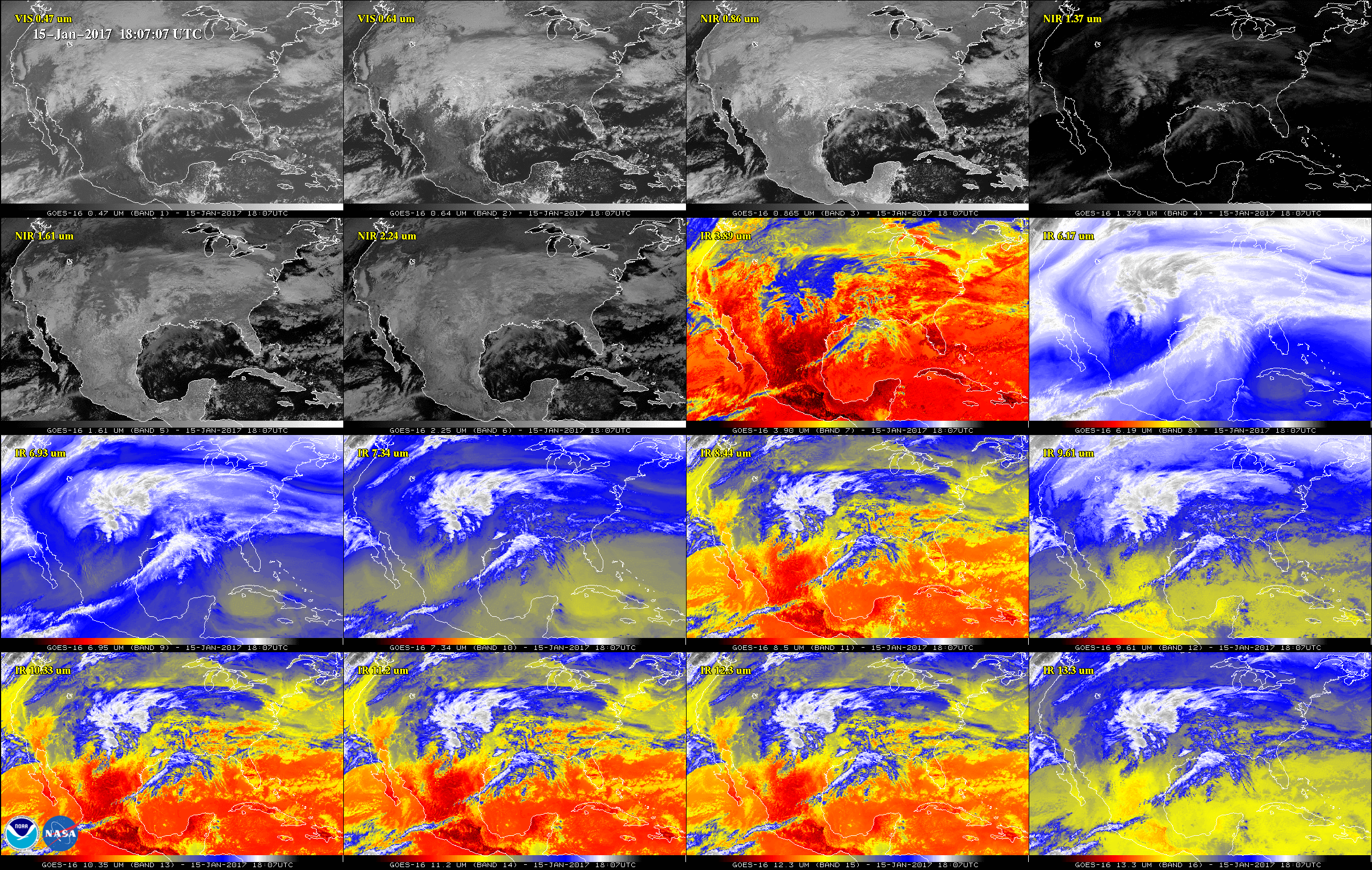 NOAA's GOES-16 satellite sends first images of Earth | World