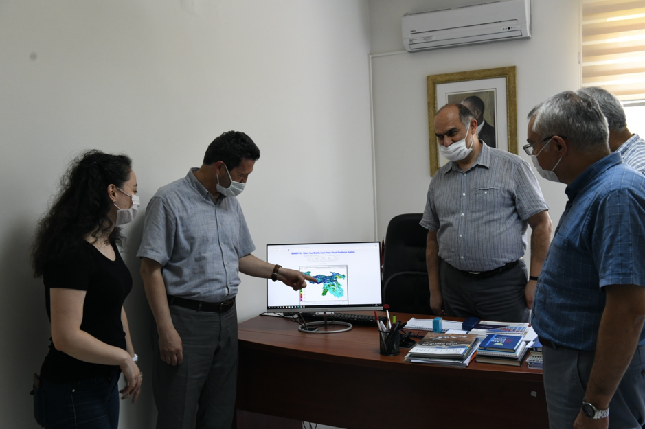 TSMS' Experts from Hydrometeorology Division, Research Department
