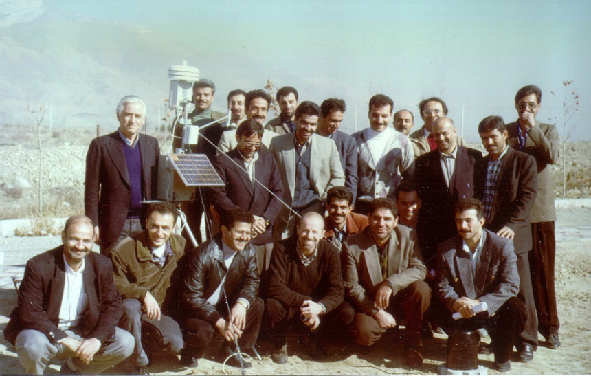 Roving seminar in Iran (1999)