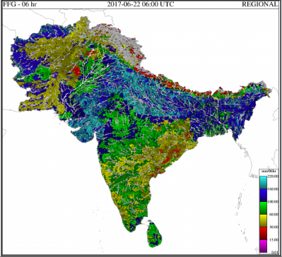 South Asia Flash Flood Guidance