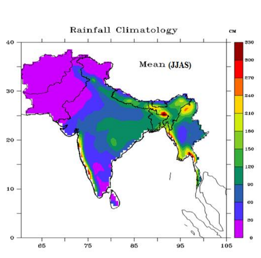 Normal rainfall likely for much of South Asia for 2017 Southwest