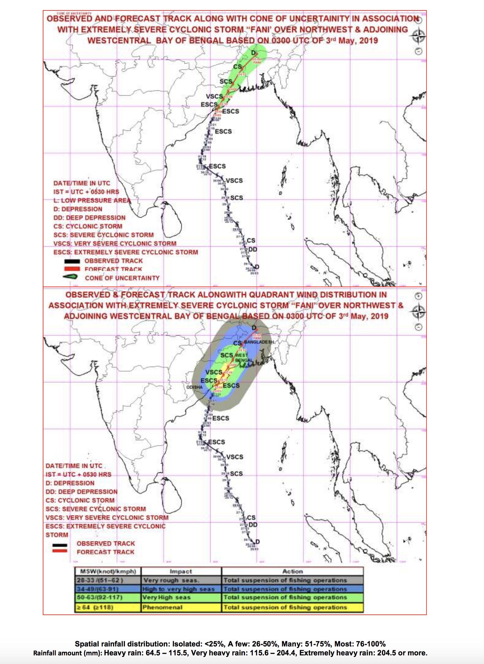 Cyclone Fani hits Indian state of Odisha 3 May