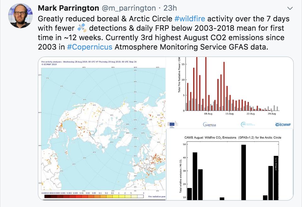 Arctic fires Aug 2019