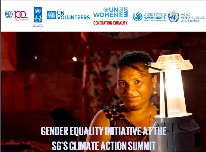 Gender side event at COP25