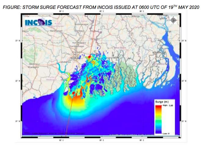 Amphan storm surge