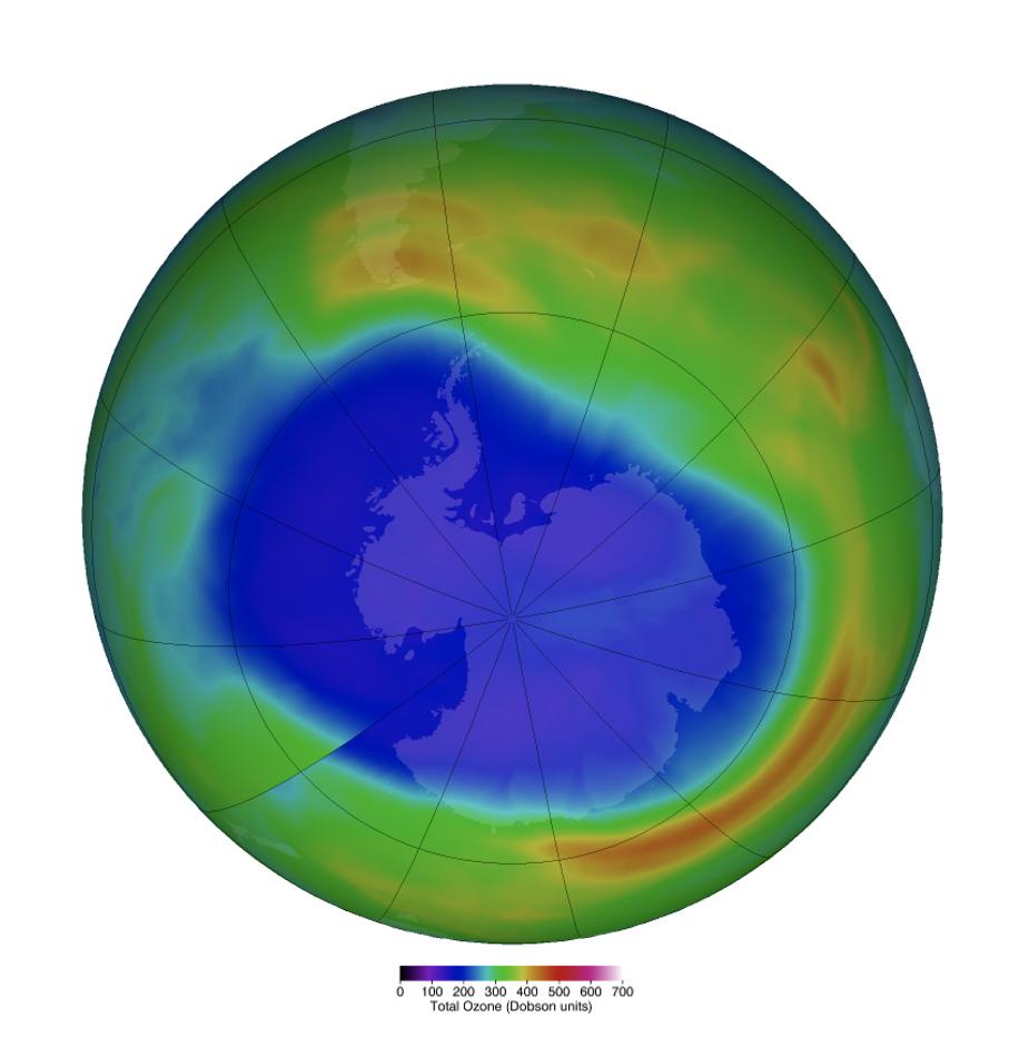 Ozone Hole Sept 2020