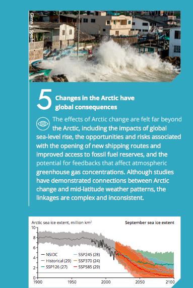 Arctic assessment report