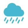 Precipitation, rain icon.png