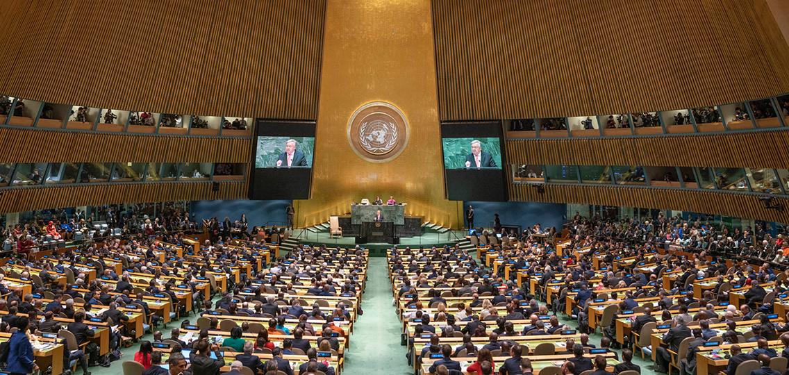 UNSG addresses General Assembly