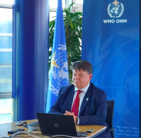 WMO Secretary General virtual press conference Earth Day2020
