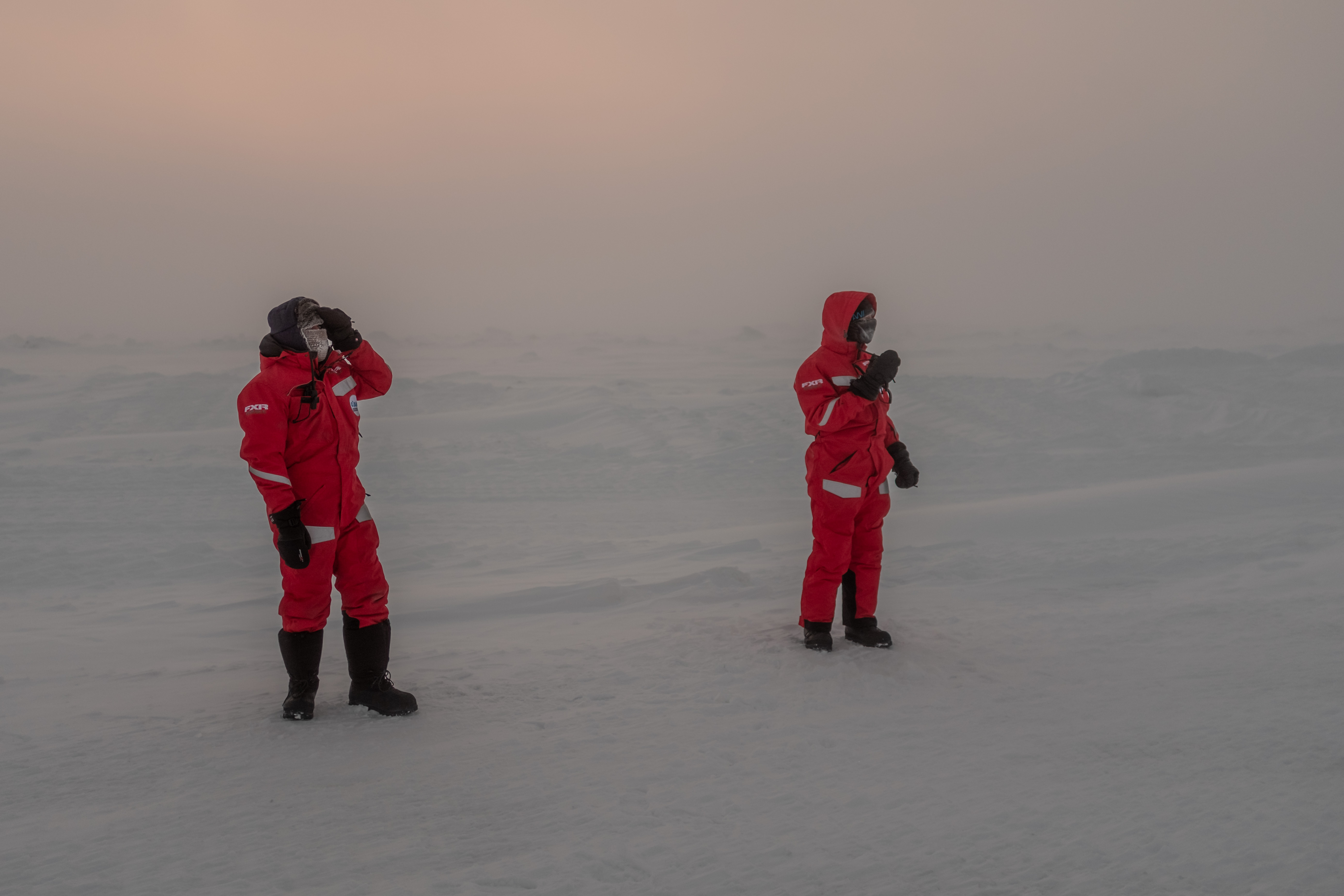 In the white-out of the Arctic: Robert Hausen