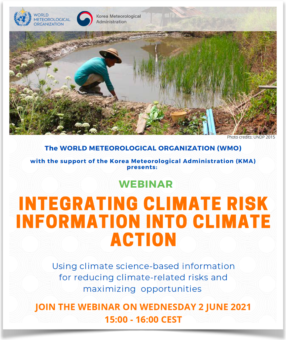 Webinar - Integrating Climate Risk Info into Climate Action