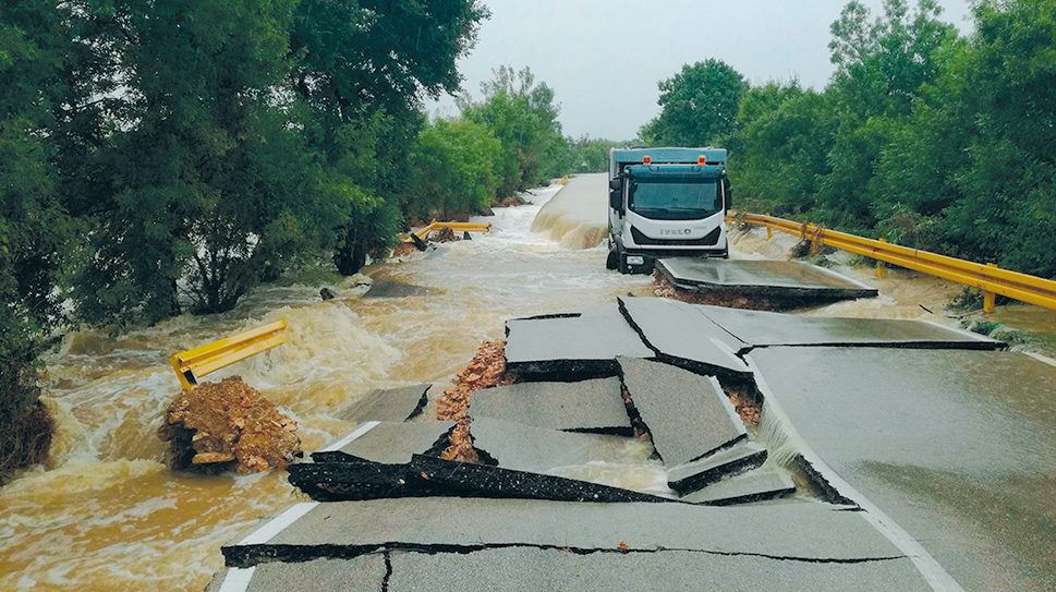 Flash flood in the city of Zadar, 11 September 2017
