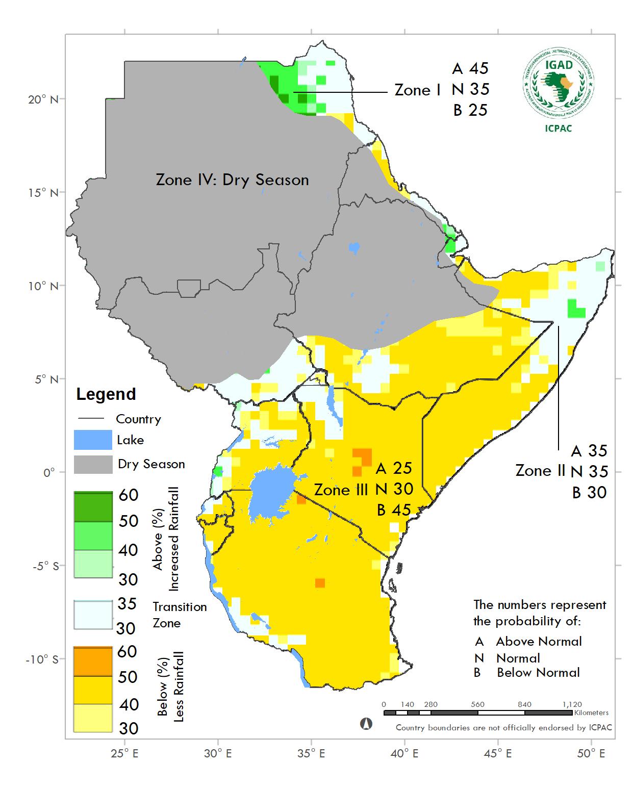 Greater Horn of Africa seasonal outlook Oct-Dec 2020