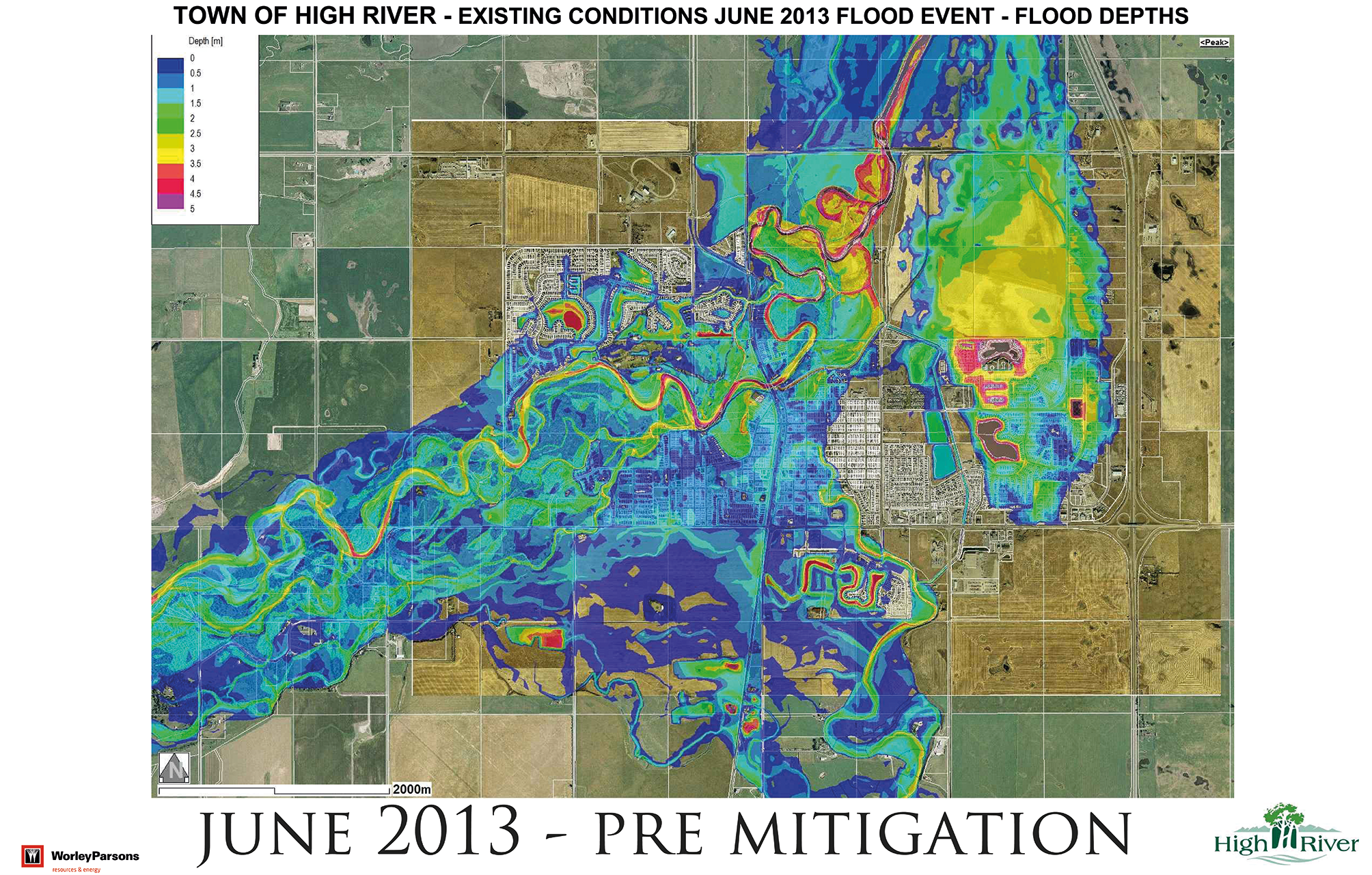 Town of High River_June 2013 Pre-Mitigation