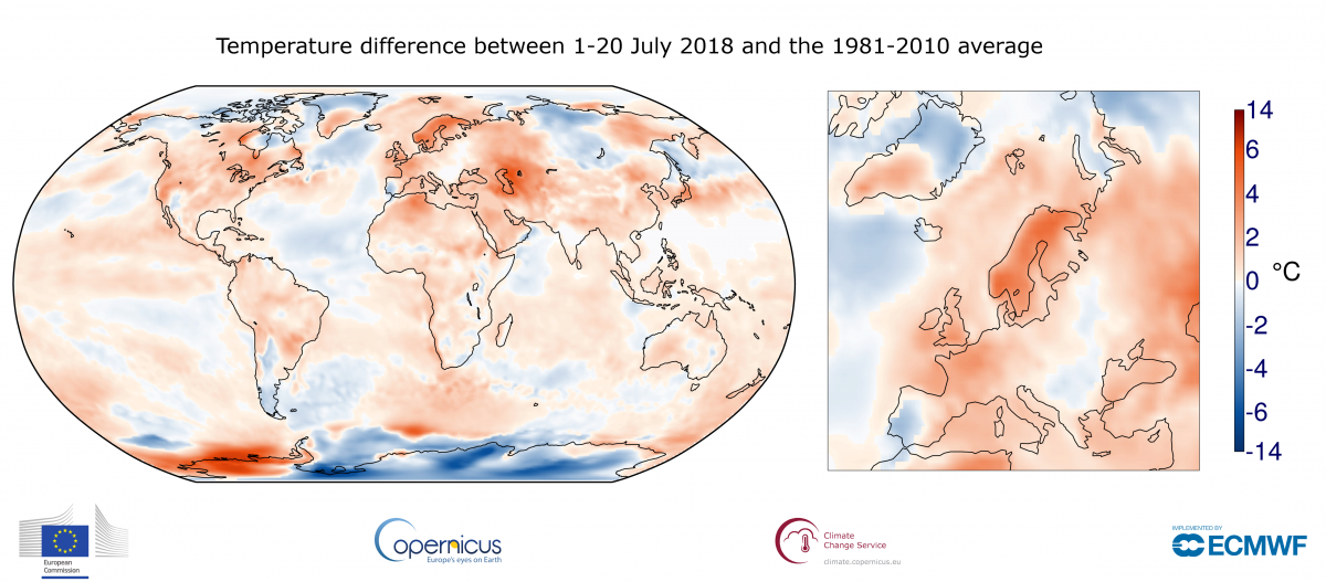 July sees extreme weather with high impacts | World Meteorological ...