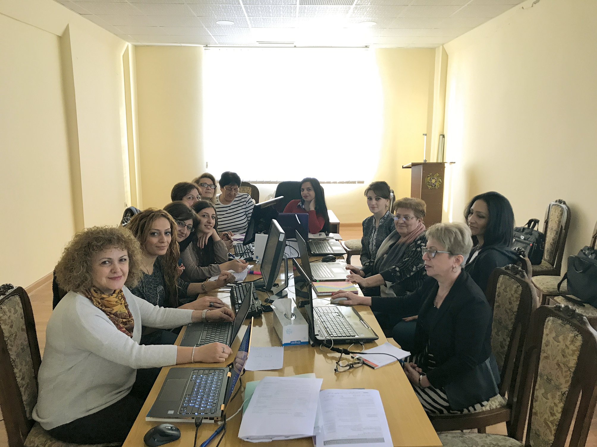 MCH Training Session in Armenia