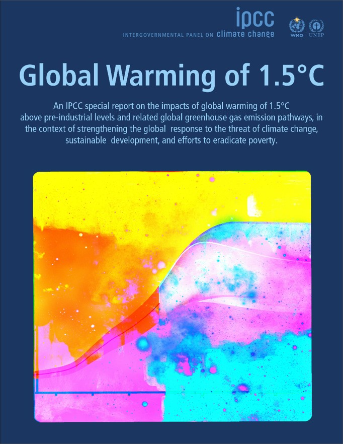 "Climate change report is a ""wake-up"" call on 1.5°C global warming 