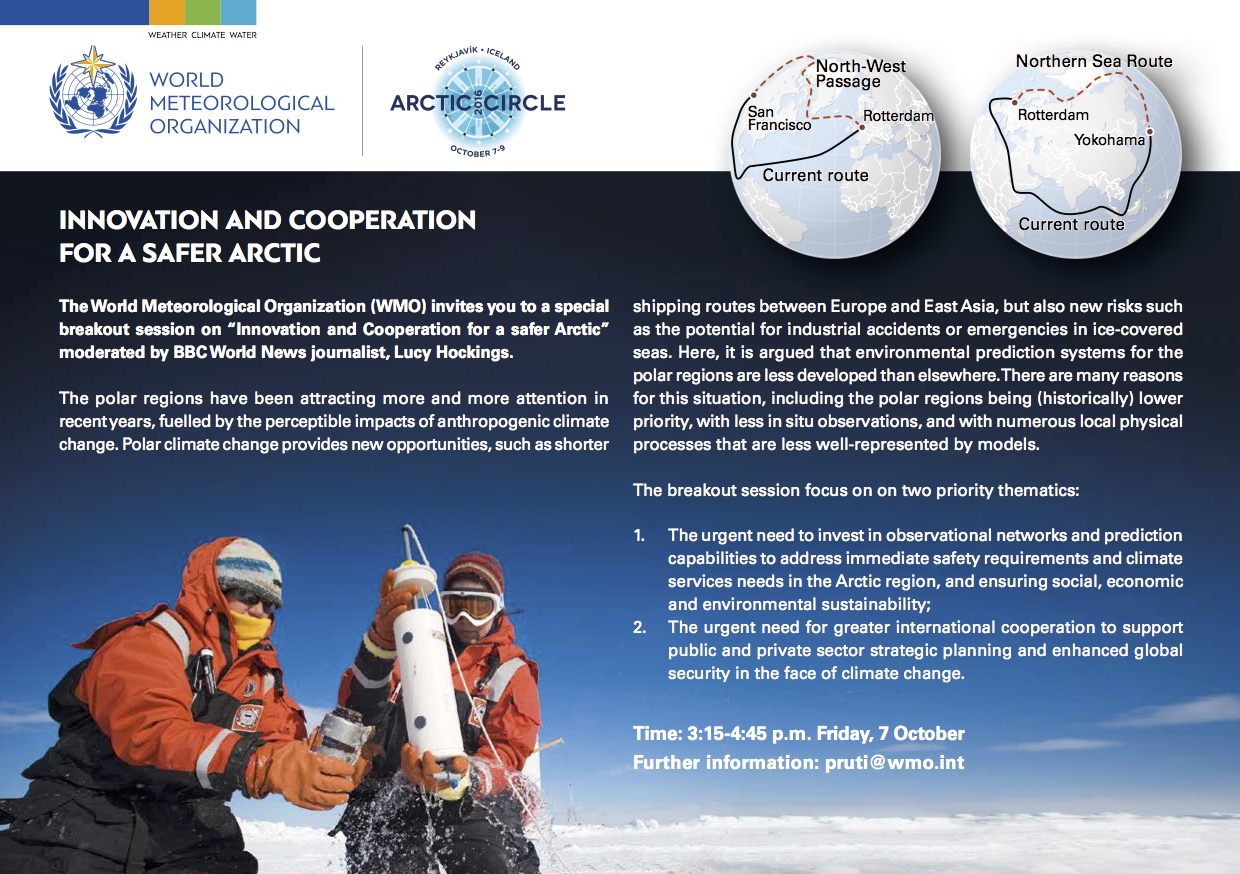 Innovation and cooperation for a safer Arctic.