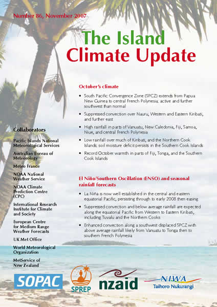 The Island Climate Update / WMO