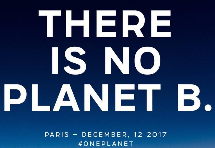 One Planet Summit banner