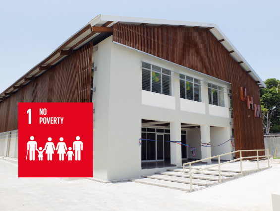 New headquarters of Haiti national meteorological and hydrological service