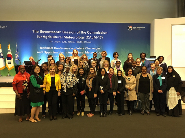 WMO Invests in a Generation of Female Leaders in Agricultural Meteorology