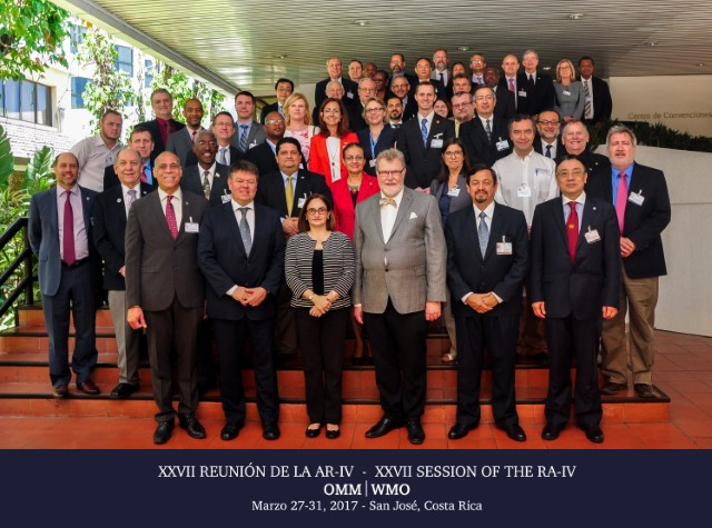WMO RAIV Session in Costa Rica, March 2017