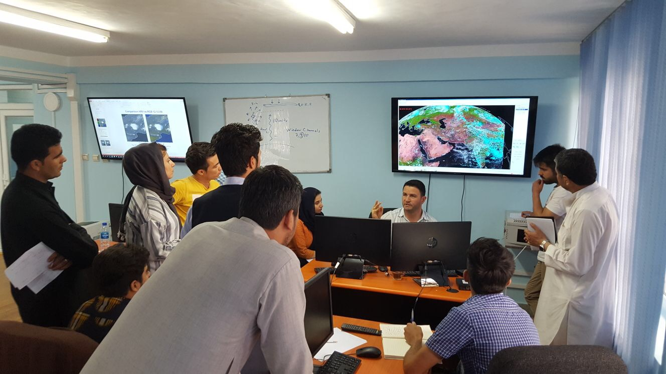 Equipped with appropriate technology and training, Afghanistan Meteorological Department issues its first flood early warning