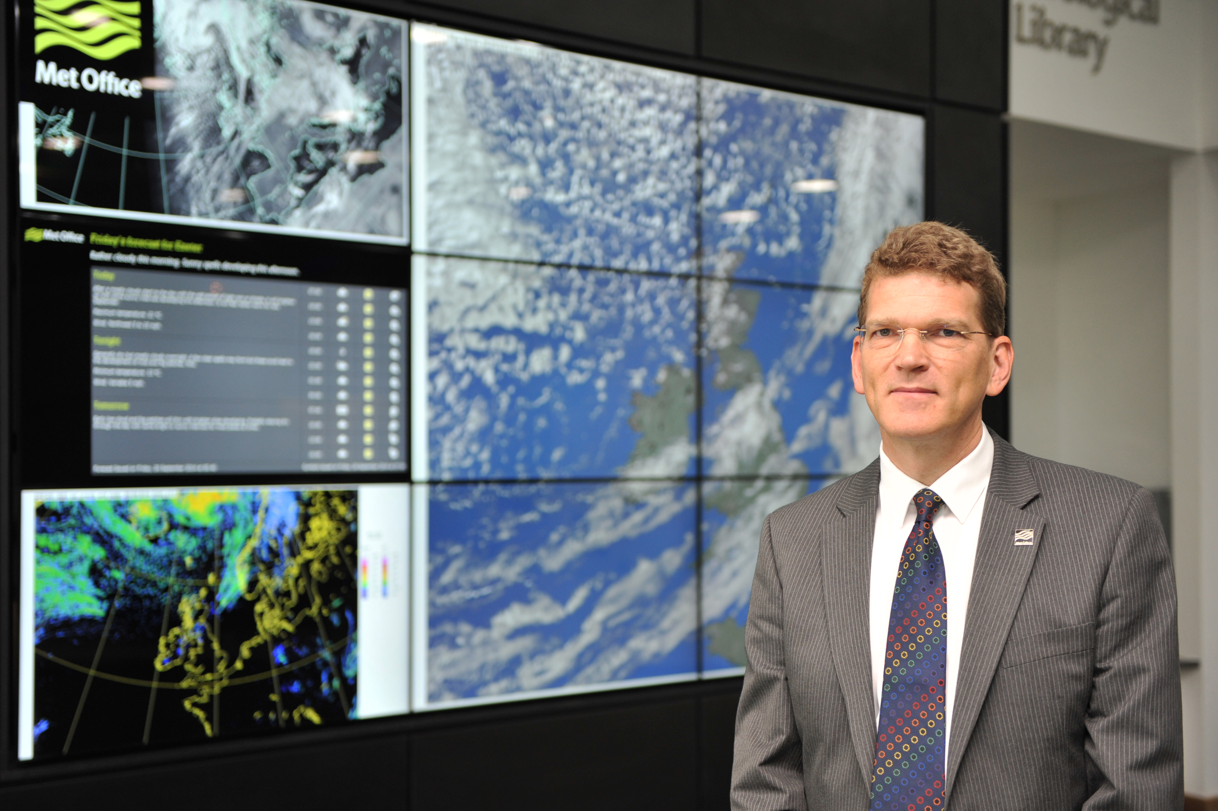 Robert Varley, First Vice-President of WMO