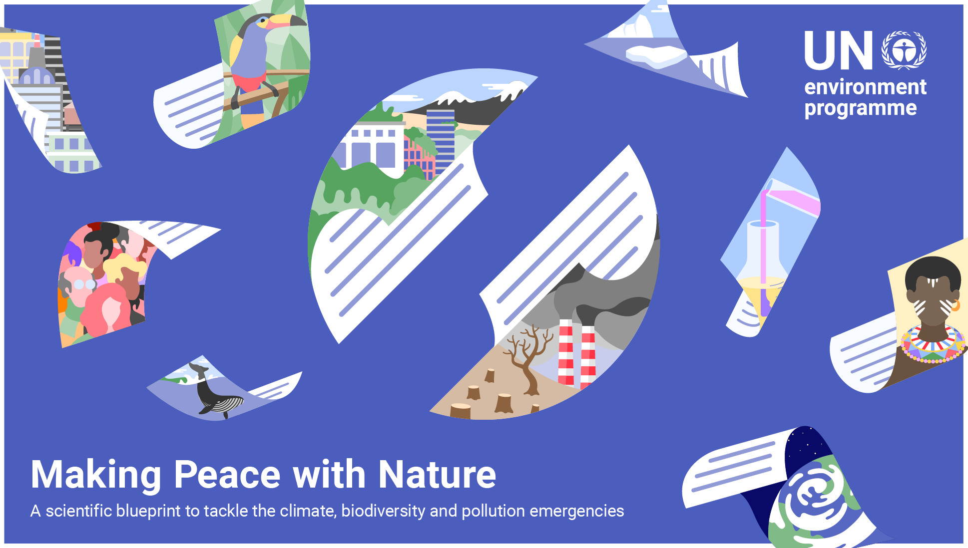 Make peace with nature: UNEP