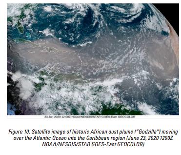 Crédit NOAA/NESDIS/STAR GOES-East GEOCOLOR