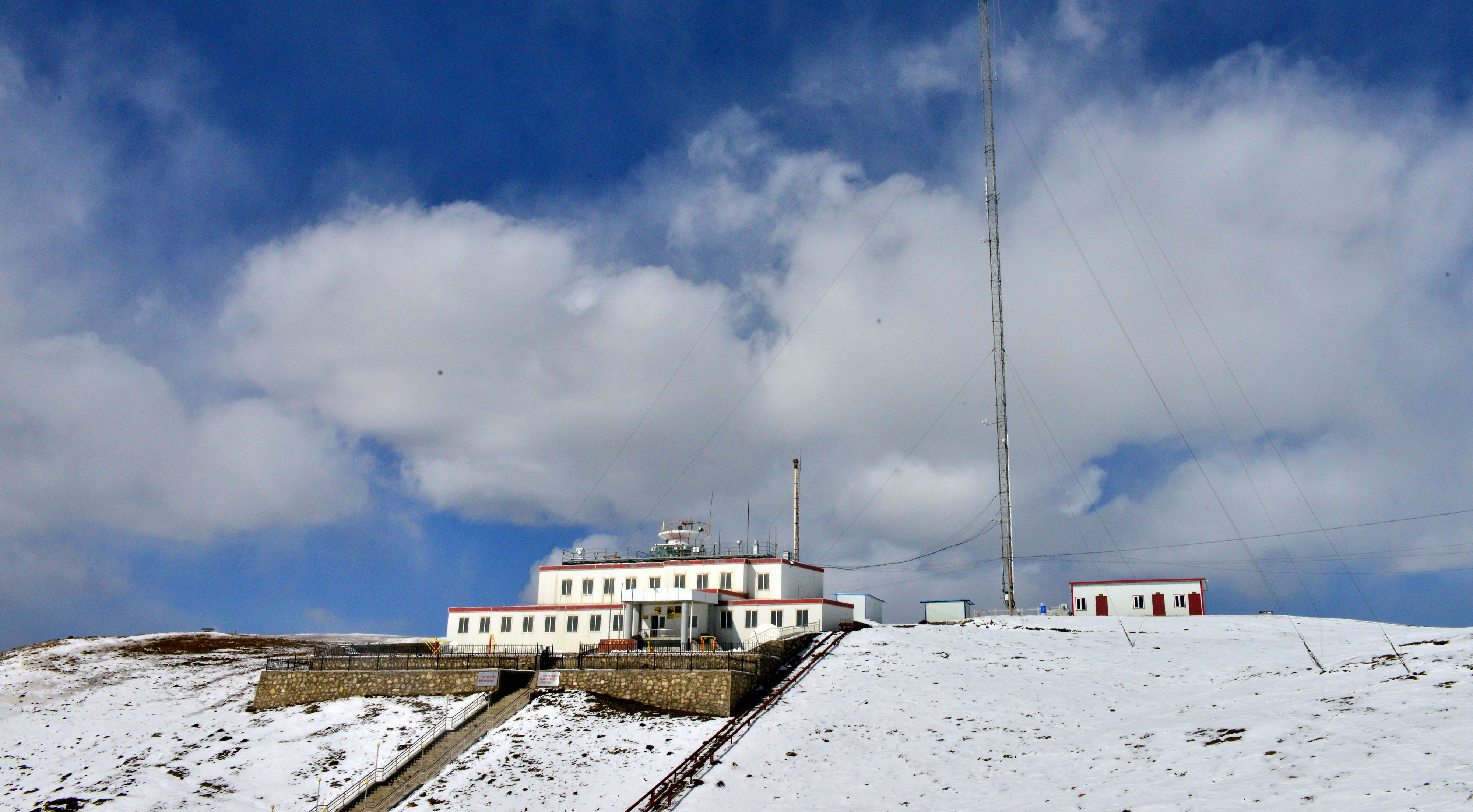 Waliguan Baseline Observatory at the altitude of 3816 meters
