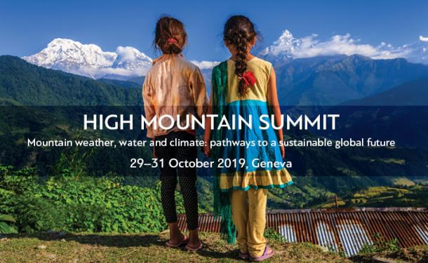 Mountain summit issues call for action on climate change