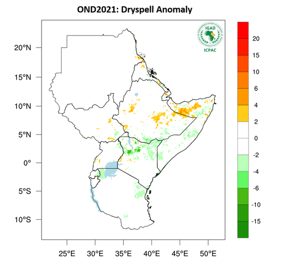 Drier and Warmer Season Forecasted to Continue Across Eastern Africa