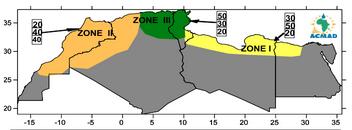 Prévisions Climatiques Saisonnières  en Afrique du Nord PRESANORD / WMO