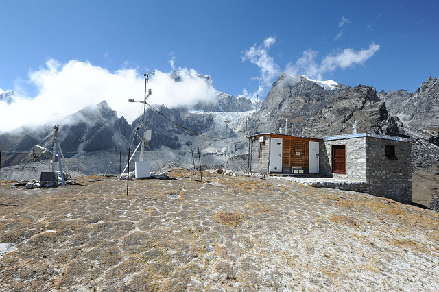 Global Data-processing and Forecasting System Pyramid GAW Global Station in Himalaya Nepal