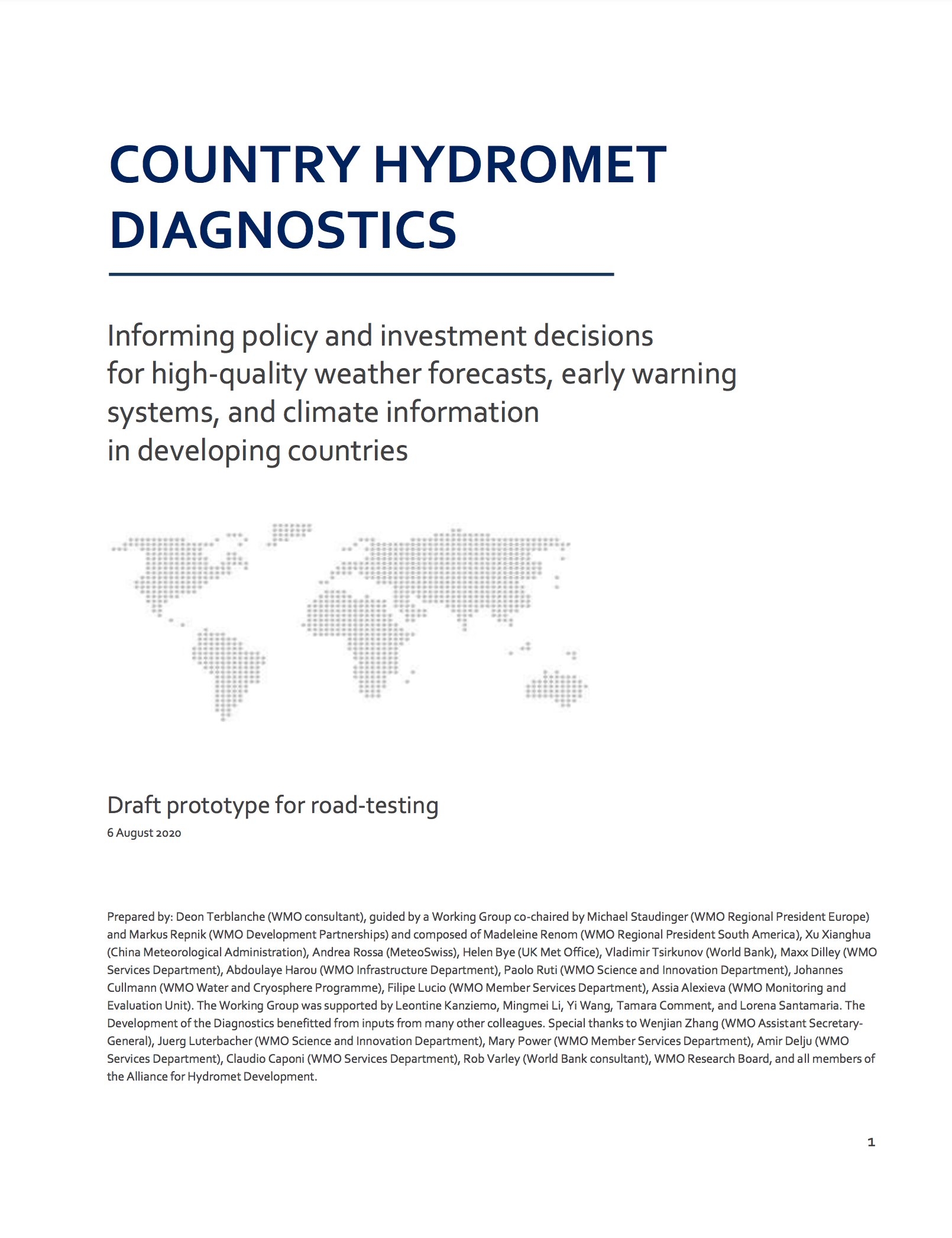 Country Hydromet Diagnostics