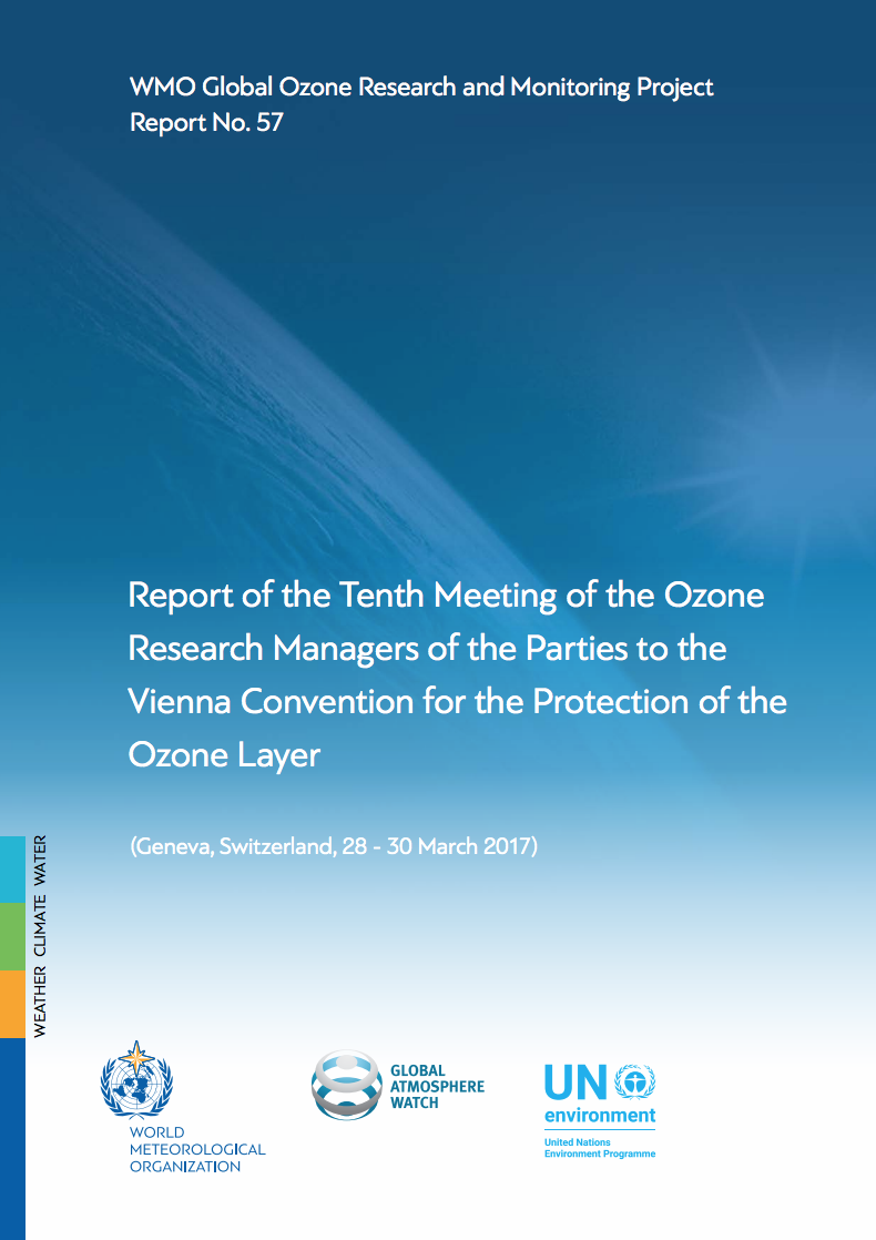 Report of the Tenth Meeting of the Ozone Research