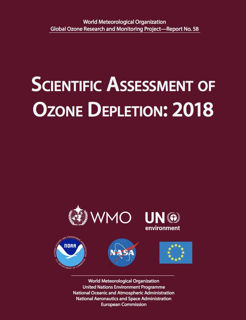 Scientific Assessment of Ozone Depletion: 2018