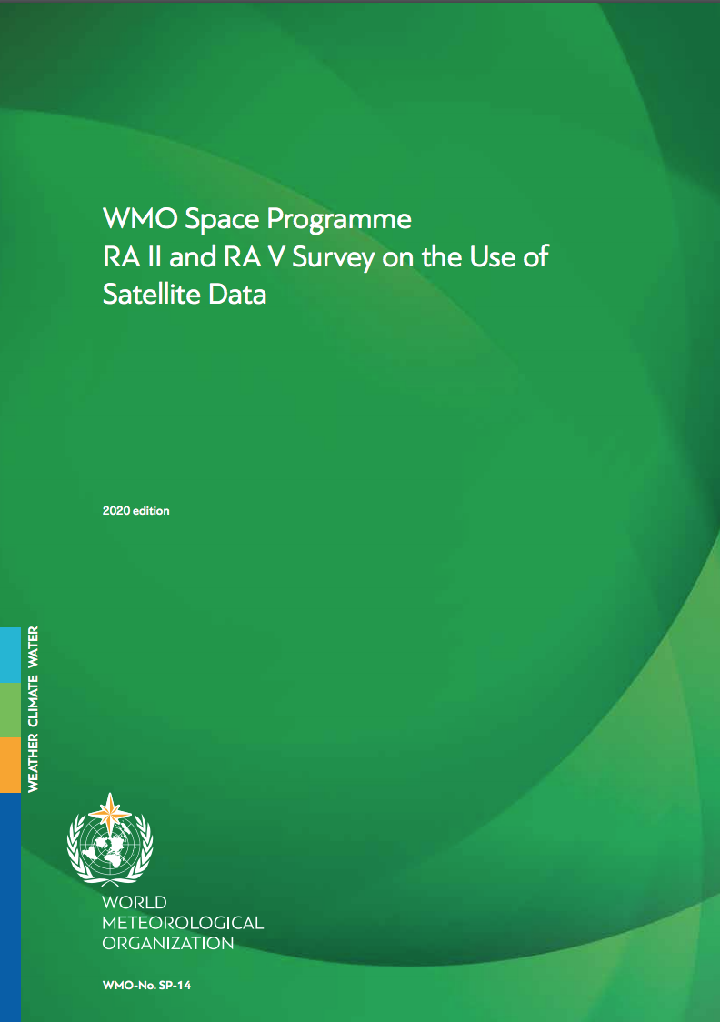 Space Programme: RA II and RA V Survey on the Use of Satellite Data