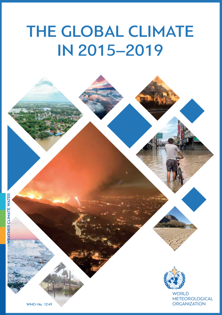 The Global Climate in 2015–2019