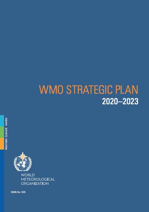 WMO Strategic Plan 2020-2023 Cover