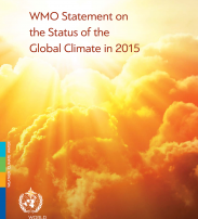 Status of the global climate in 2015