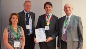 HMEI Award Winner Dr Denis Kiselev