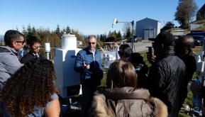 Measurement-Model Fusion for Global Total Atmospheric Deposition