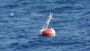 Damaged TAO buoy