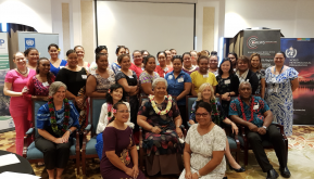 Women in Science taking the lead in the Pacific Islands