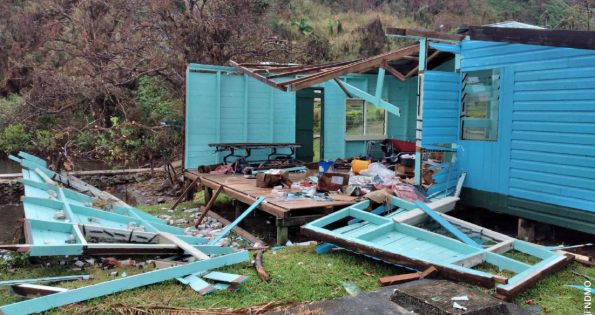 Tropical Cyclone Harold caused extensive damages in Fiji.